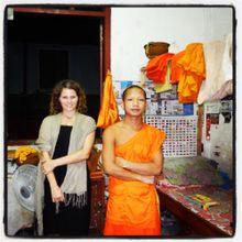 Laos (10): Mange, prie, aime à Luang Prabang.