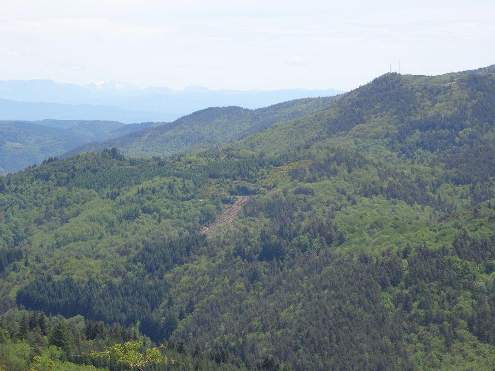 Boucle Sud n°5 au départ de Cheylard - Ardèche Hautes Vallées - le 23 mai 2021