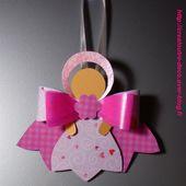 DIY Noël : petit ange en papier (facile) - Crealoutre