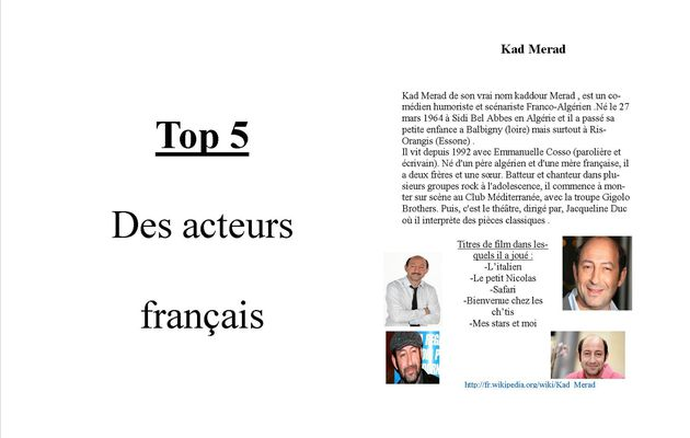 2011-05 Top 5 Fiches