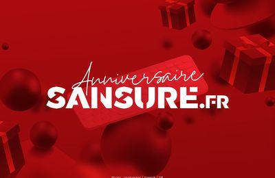 C'est l'anniversaire Sansure : un Pack Sansure XXL à gagner ! #concours