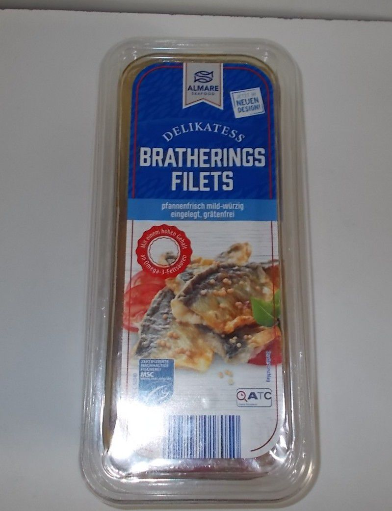 Aldi Almare Delikatess Bratherings Filets