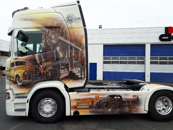 Camion décoré RBT Création
