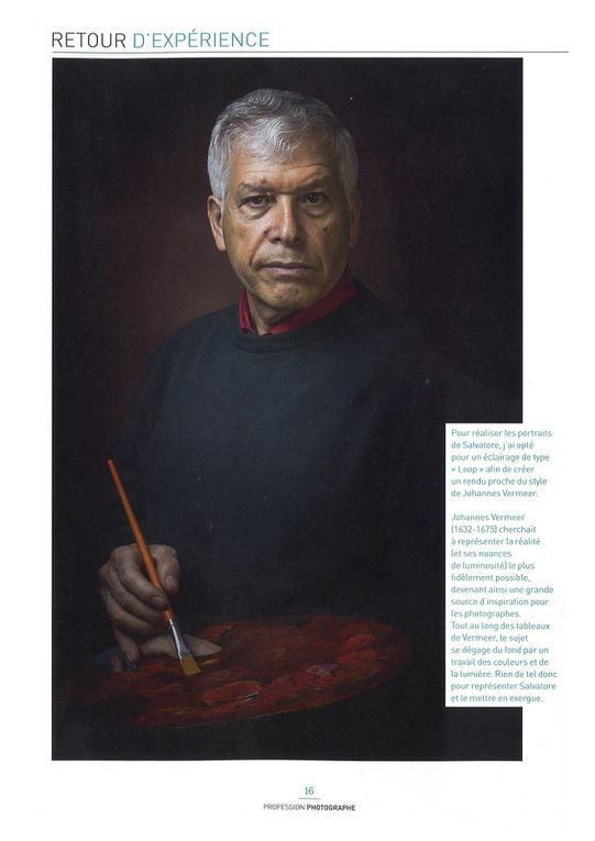 """Salvatore Gucciardo à l'honneur dans Le magazine français """"Profession photographe"""" n°36"""