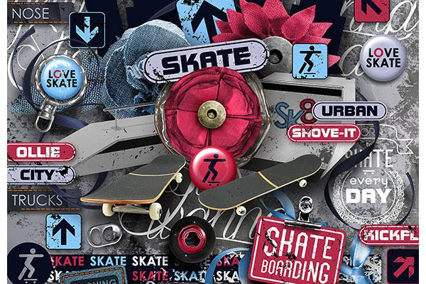 Pro Skater - kit and collection for teenagers