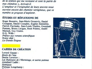 """Collectif """"H.G. Wells & Rosny aîné"""" in Europe nº 681-682 (1986)"""