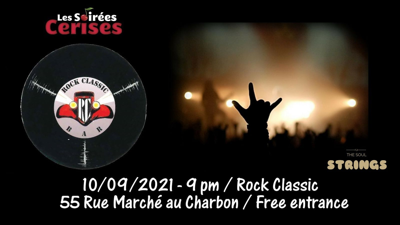 🎵 Soul Strings (covers band) @ Rock Classic - 10/09/2021