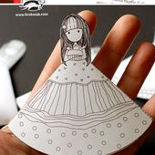 BOOKMARKS for girls