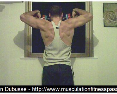 Entraînement des épaules en musculation, Sébastien Dubusse, blog Musculation Fitness Passion