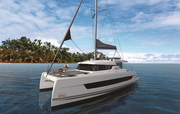 Scoop - Bali Catamarans Announces Bali CatSpace, a 40-Feet Catamaran with very large front cabins