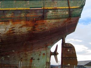 Camaret-sur-mer, base d'entretien des bateaux.