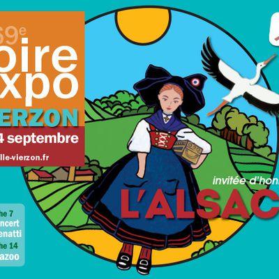 Julie Zenatti ouvre la foire Expo de Vierzon ce dimanche 7 Septembre !