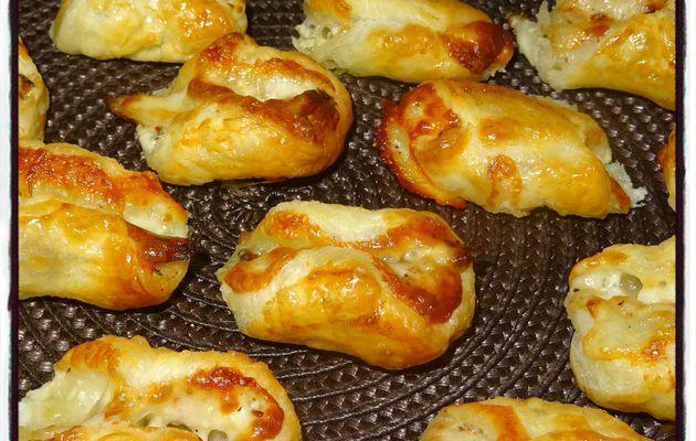 Feuilletés poulet mozzarella