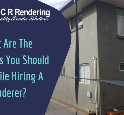 What Are The Questions You Should Ask While Hiring A Renderer?