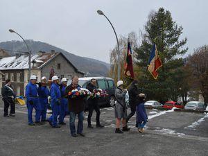 Sainte Barbe des Mineurs en 2017 - Du Belvédère à la stèle des Mineurs