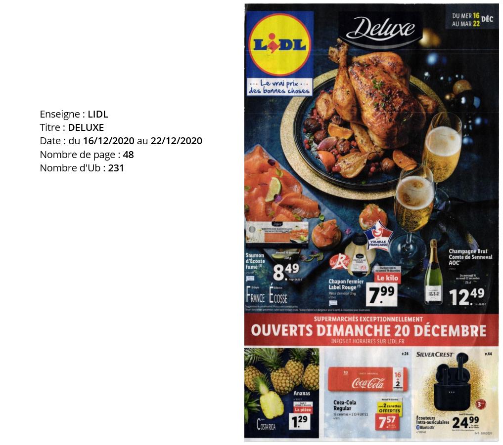 L'Hebdo, semaine du 16 au 22 décembre