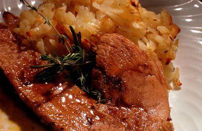 Rouelle de porc a la cocotte au four