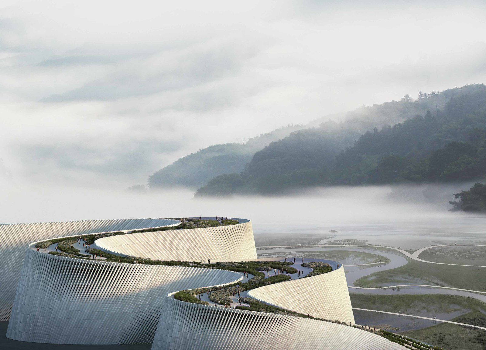 SHENZHEN NATURAL HISTORY MUSEUM BY 3XN ARCHITECTS