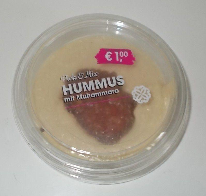 Aldi Pick & Mix Hummus mit Muhammara