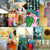 FESTIVAL ORLEANS HIP HOP 2015 SACRE BLEU organise une EXPOSITION EPHEMERE Ecole des Papillons Blancs - VIVRE AUTREMENT VOS LOISIRS avec Clodelle