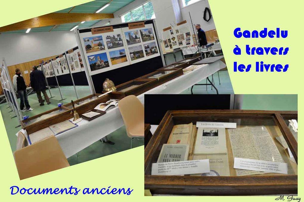 Gandelu s'est penché sur son passé et vous verrez ici, d'un peu plus près, des exemples de la grande richesse de cette expo qui eut lieu dans la salle polyvalente.