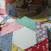 Buttontree Lane: My creative space - remembering the hexagons