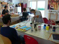 stage de peinture pendant les congés de carnaval