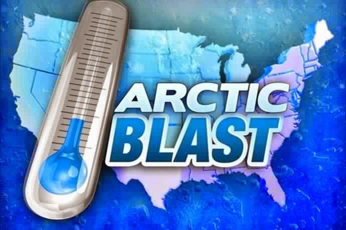 """""""Artic Blast"""" et climat polaire aux USA"""