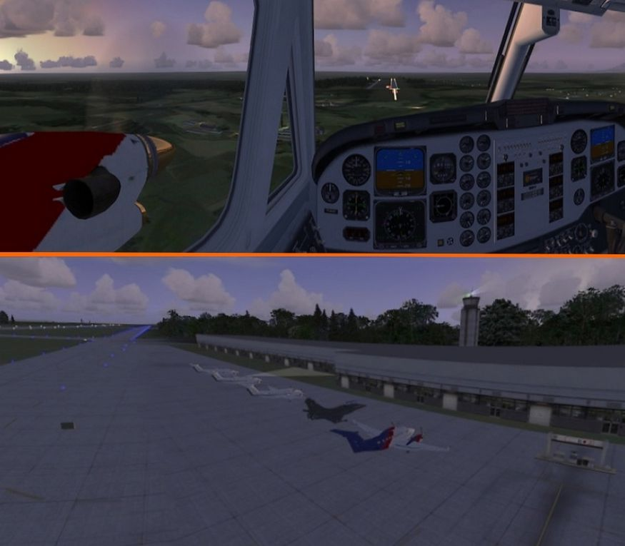 Images YQUET-Aviation Aéroclub virtuel...