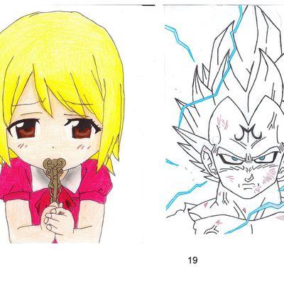 """Concours de dessins """"A la manière des mangas"""" (11)"""