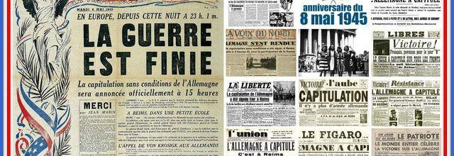 LE 8 MAI 1945 LA GUERRE CONTRE L'ALLEMAGNE PRENAIT FIN. TEMOIGNAGE D'UN SOLDAT ENGAGE.