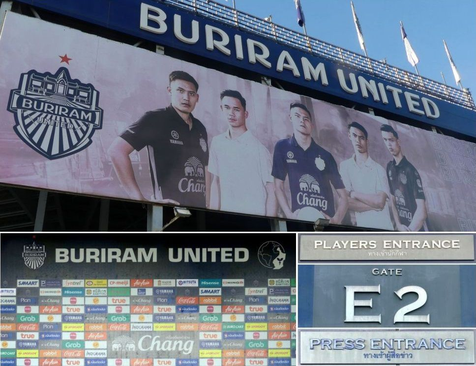 Le Château du Tonnerre – Le stade de Buriram United