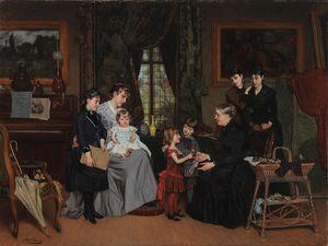 Quelques toiles de Louis Edmond POMEY