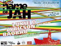 <P><STRONG>Tous les flyers reggae de juillet</STRONG></P>