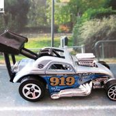 FIAT 500 C DRAGSTER HOT WHEELS 1/64 - car-collector.net