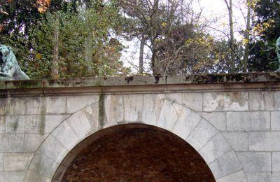 Les Lions en bronze du Jardin des Plantes, Paris 5e