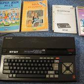 [Vente] Sony MSX1 à vendre, Cartouches, et cassettes
