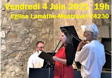 Concert Baroque Vendredi 4 Juin 2021 à 19h ! vite, réservez dès maintenant !