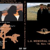 U2 -Joshua Tree Tour -18/11/1987 -Los Angeles USA - Memorial Coliseum - U2 BLOG