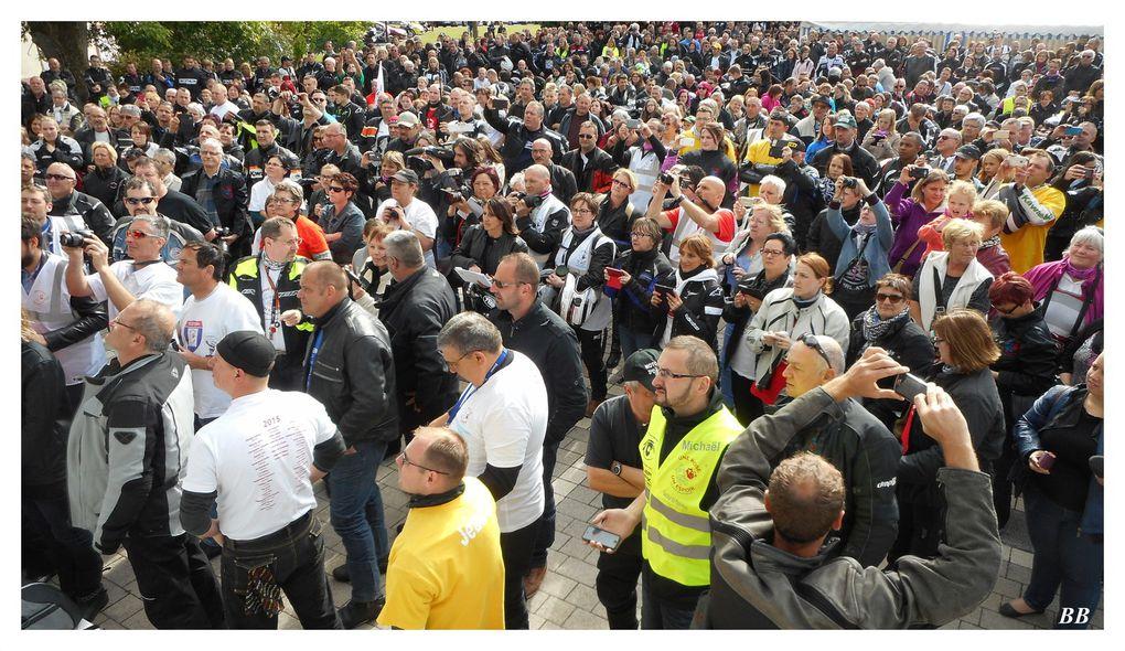 Une Rose Un Espoir Remise du chèque officielle à Sarralbe le samedi 30 Mai 2015