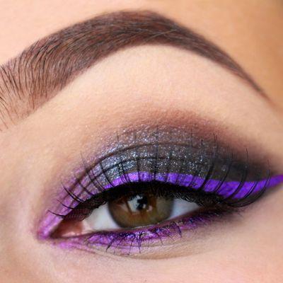 Cat eyes Black & Purple