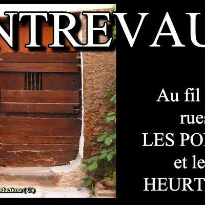 AU FIL des RUES du VILLAGE FORTIFIE d'ENTREVAUX - Le spectacle des RUES, de leurs portes et fontaines