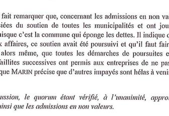 Les absents ont toujours tort…