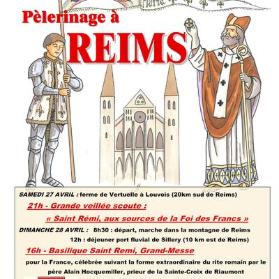 Scouts de Riaumont - Pèlerinage à Reims 2013