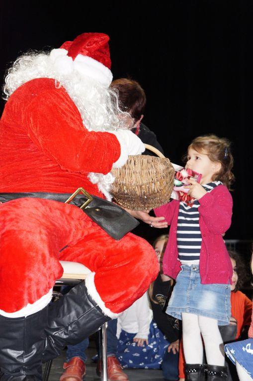 Photos avec le Père Noël