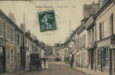 HISTOIRE CLAYE-SOUILLY : POUYER Emile, Tranquille, pharmacien