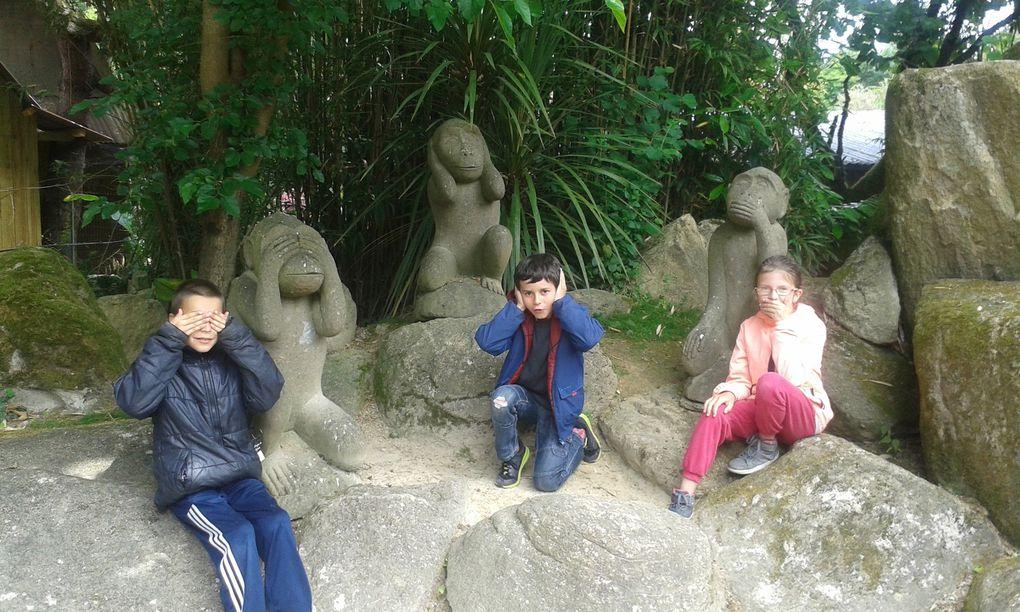 Sortie scolaire à Tropical Parc