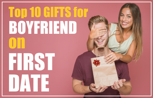 10 Creative Gifts for Boyfriend on the First Date - Unique with Personalised