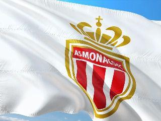 l'emblème du club de football AS Monaco