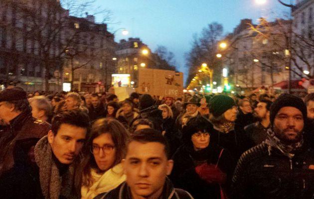 Rassemblements et marches le 11 janvier 2015